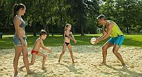 Hotel at Lake Balaton - beach volley - Hotel Marina Balaton