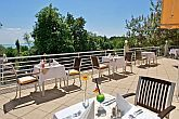 Panoramic view of Lake Balaton from the 4* Bal Resort Hotel