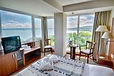 Panoramic view of Lake Balaton from 4* Hotel Bal