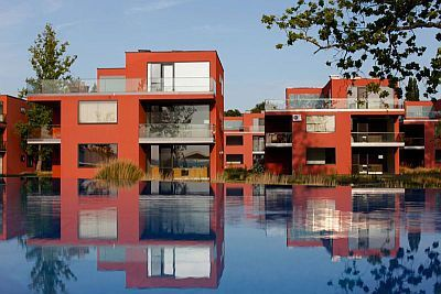 BL Bavaria Yachtclub in Balatonlelle at lake Balaton - luxury apartments with panoramic view of the lake Balaton