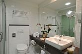 Hotel Bonvital**** is a beautiful bathroom in Heviz